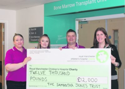RMCH cheque