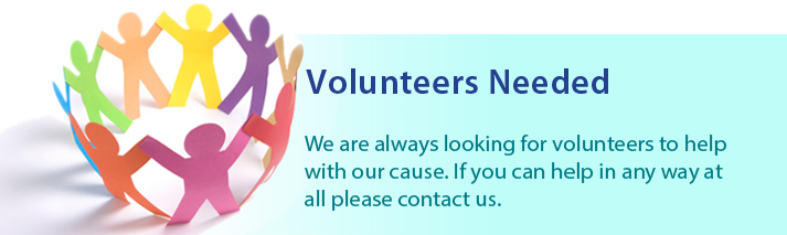 Volunteers are always needed - The Samantha Jones Trust